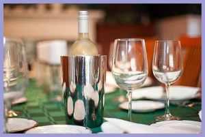 white wine insulator