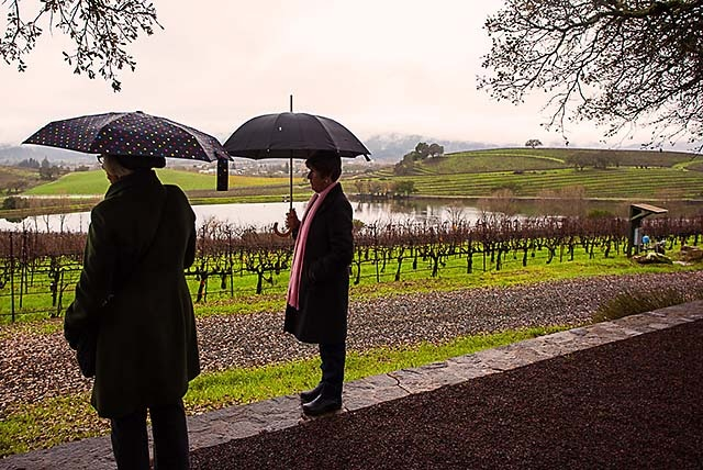 wine country winter