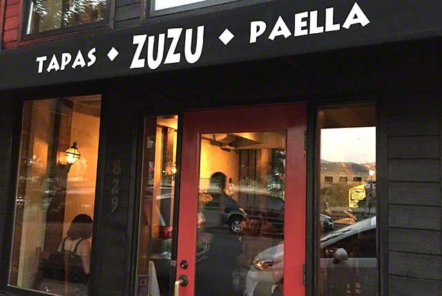 Zuzu on 829 Main Street in Napa