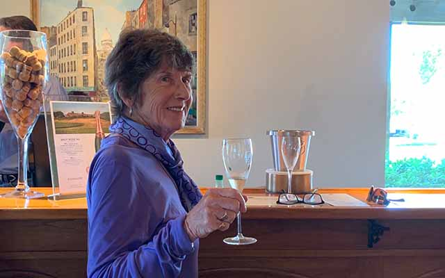 Visitor friendly Roederer Estate tasting room in the Anderson Valley