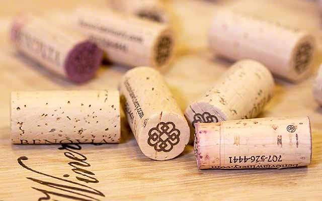 corked wine cork taint