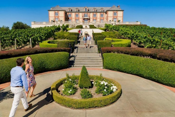 Domaine Carneros, Napa Valley Tour and Sonoma valley wine tasting tour, Sonoma Valley tours