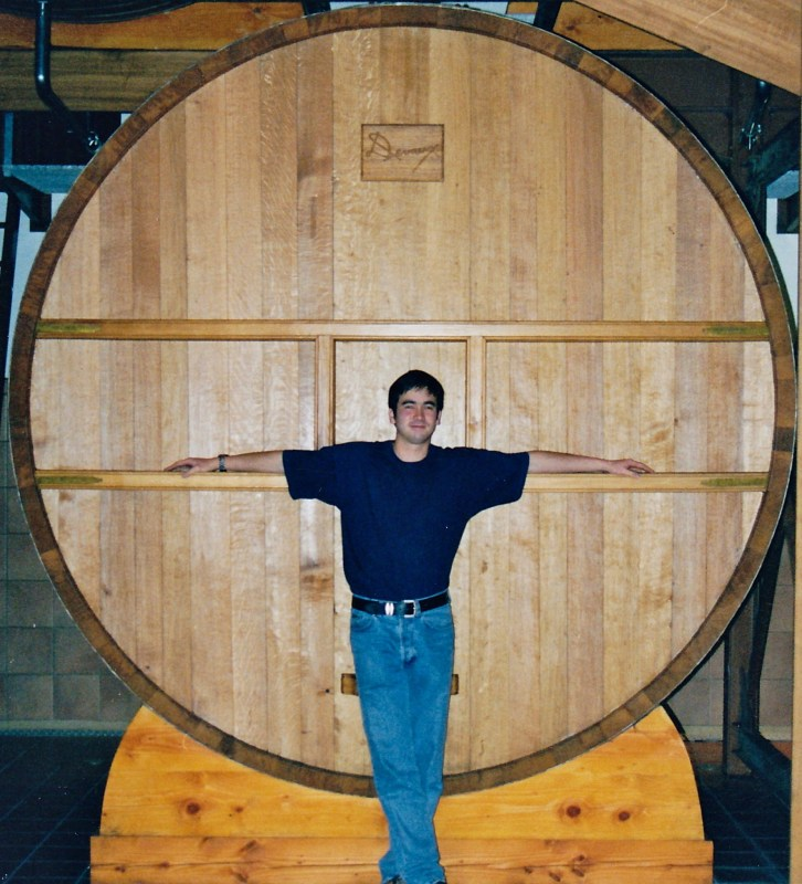 A feut at deveau used for storing reserve wine pic for wine decoded by pal kaan