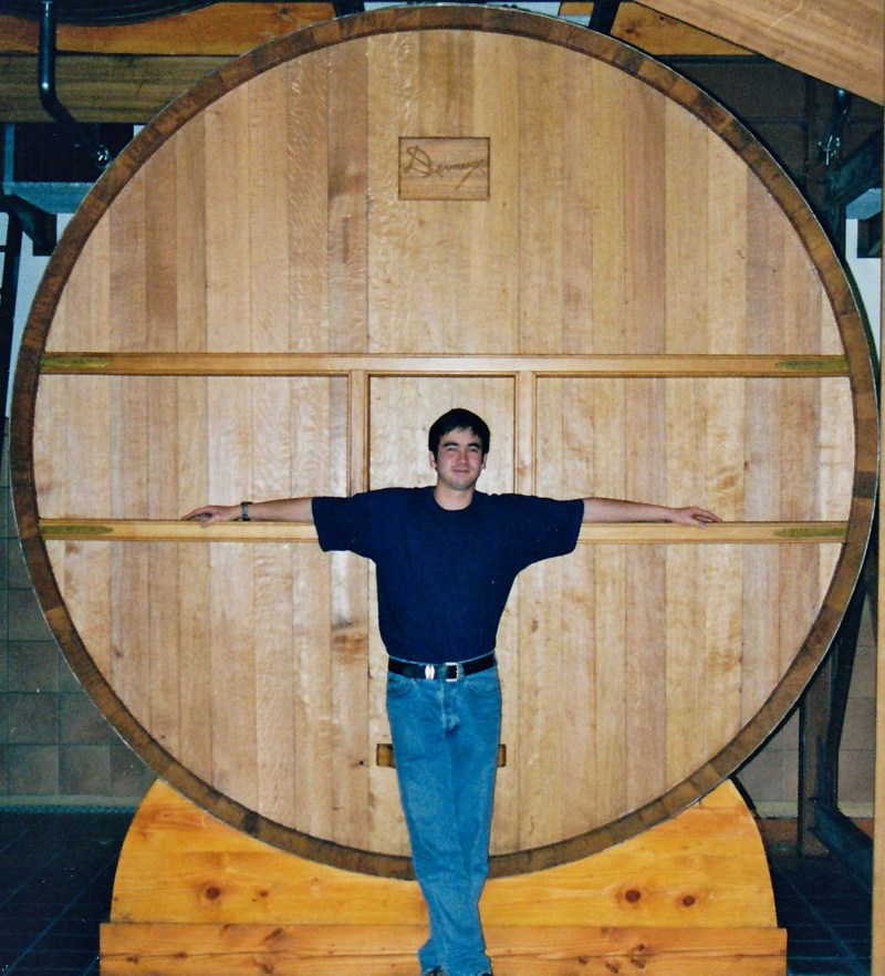 A feut at deveau used for storing reserve wine pic for wine decoded by paul kaan