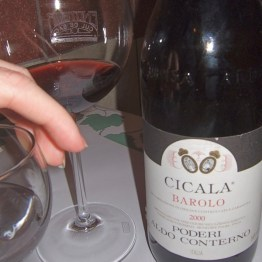 2000 Aldo Conterno Cicala drunk in Rome by Paul Kaan for Wine Decoded