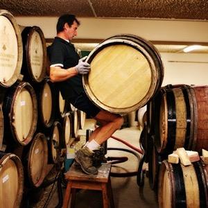 Domaine Ponsot Racking Barrels