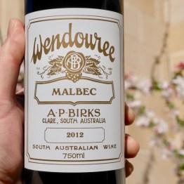 AP Birks Wendouree Malbec 2012