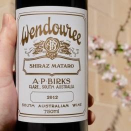 AP Birks Wendouree Shiraz Mataro 2012