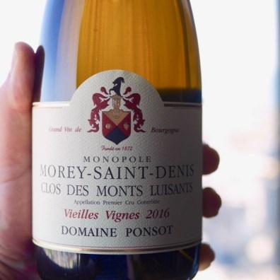 Ponsot Morey Saint Denis Clos des Monts Luisants Blanc 2016