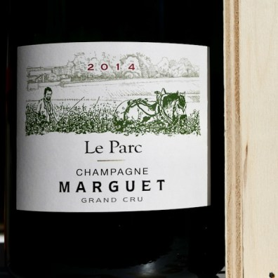 Champagne Benoît Marguet Amobonnay 'Le Parc' Blanc de Blance Grand Cru JEROBOAM 3L 2014 Front by Paul Kaan for Wine Decoded
