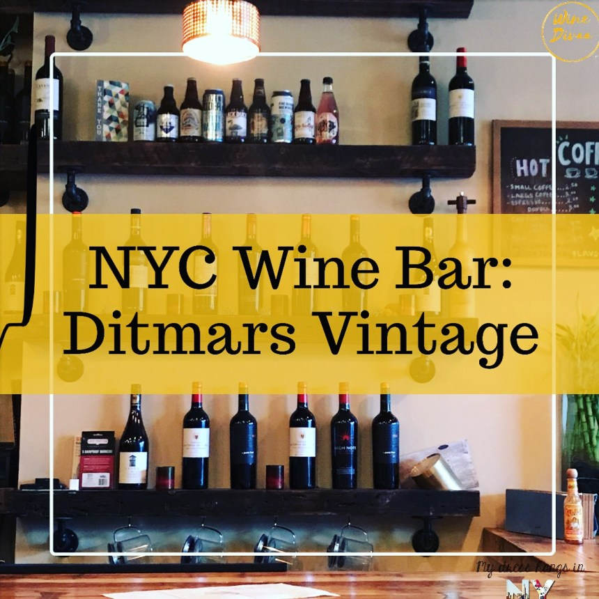 NYC Wine Bar: Ditmars Vintage