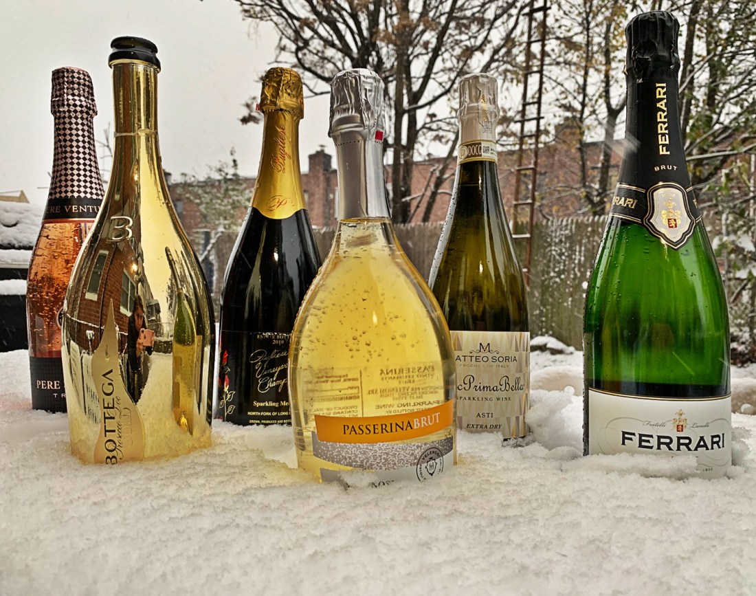 Here are our sparkling wines recommendations to make your 2018 holidays memorable.
