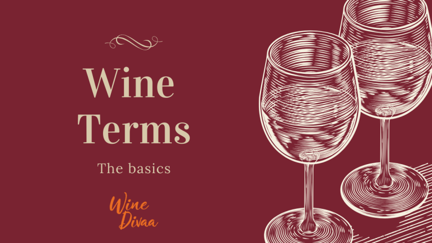 Wine Divaa Wine Terms