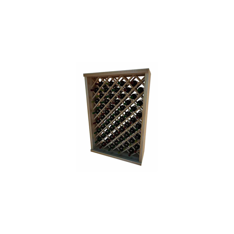 individual diamond bin wine rack plans