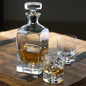 Lexington Whiskey Decanter and Glasses Set