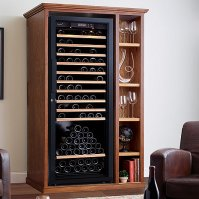 Custom Wine Cellar Cabinet With Shelves - Wine Enthusiast