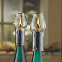 Wine Bottle Oil Lamp Kit - Wine Enthusiast