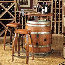 Wine Barrel Furniture Wine Enthusiast