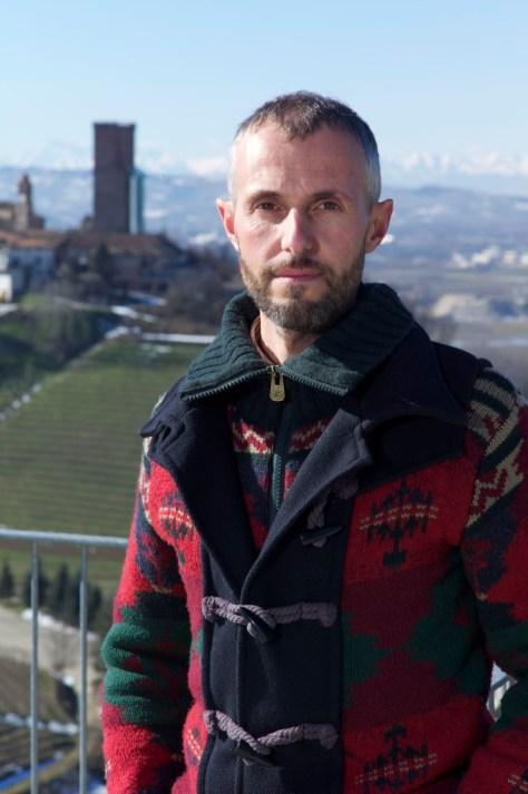 Renato Vacca, owner and winemaker of Cantina del Pino in Barbaresco.