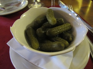 You'll never run out of cornichons for your viande sechee or raclette.