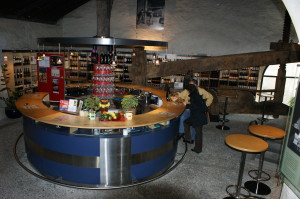 The Oenotheque at the Chateau de Villa is a great place to taste and purchase Valais wines.