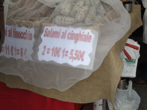 A wide selection of delicious Piemontese specialities are always available at Alba Market on Thursday's and Saturday's, year round.