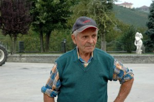 Ernesto Grasso, the late patriarch of Cà del Baio in Treiso (Barbaresco).