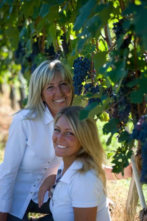 Anna Abbona with daughter Valentina. Photo Credit - Cinzia Trenchi