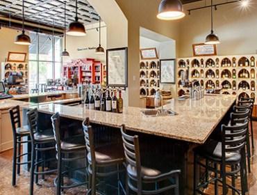 winestyles tasting station interior