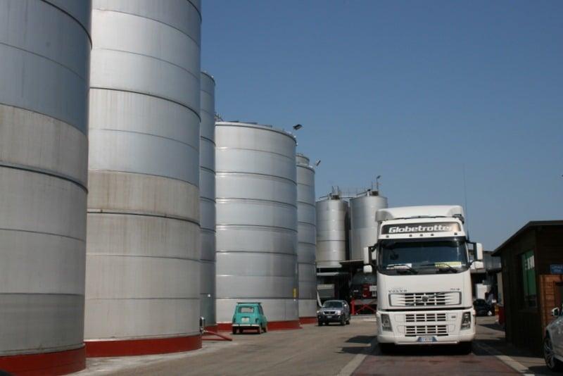 Huge tanks