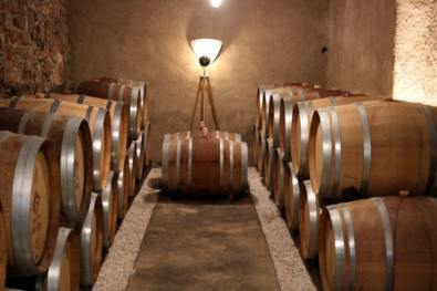 cellar at Prieuré Borde-Rouge