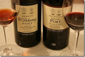 Port in two styles