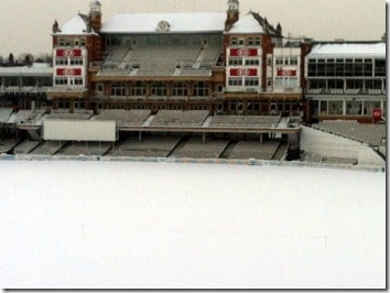 The Oval Cricket Ground January 2013