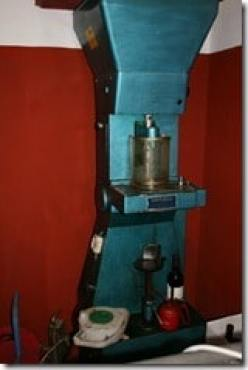 old corking machine