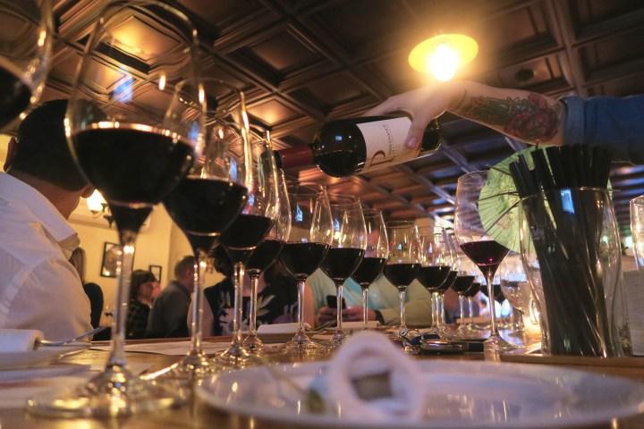 Loosing Myself In A Sea Of Wine