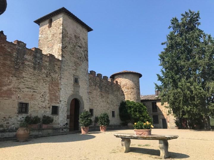 Travel Diary; Life In The Castle – My Visit to Castello Di Gabbiano