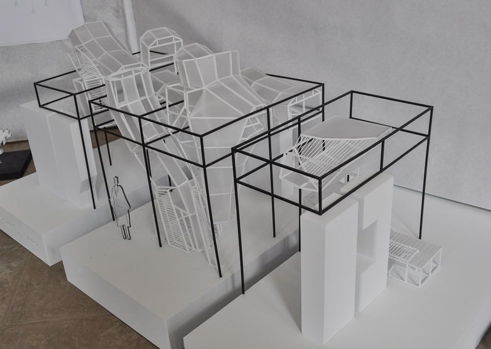 [B]Vouc(k)y Shack: Erica David, Architecture; Alexander Urasaki, Architecture; Jerome Deck, Architecture; Gannon Van Sickle, Construction Management.