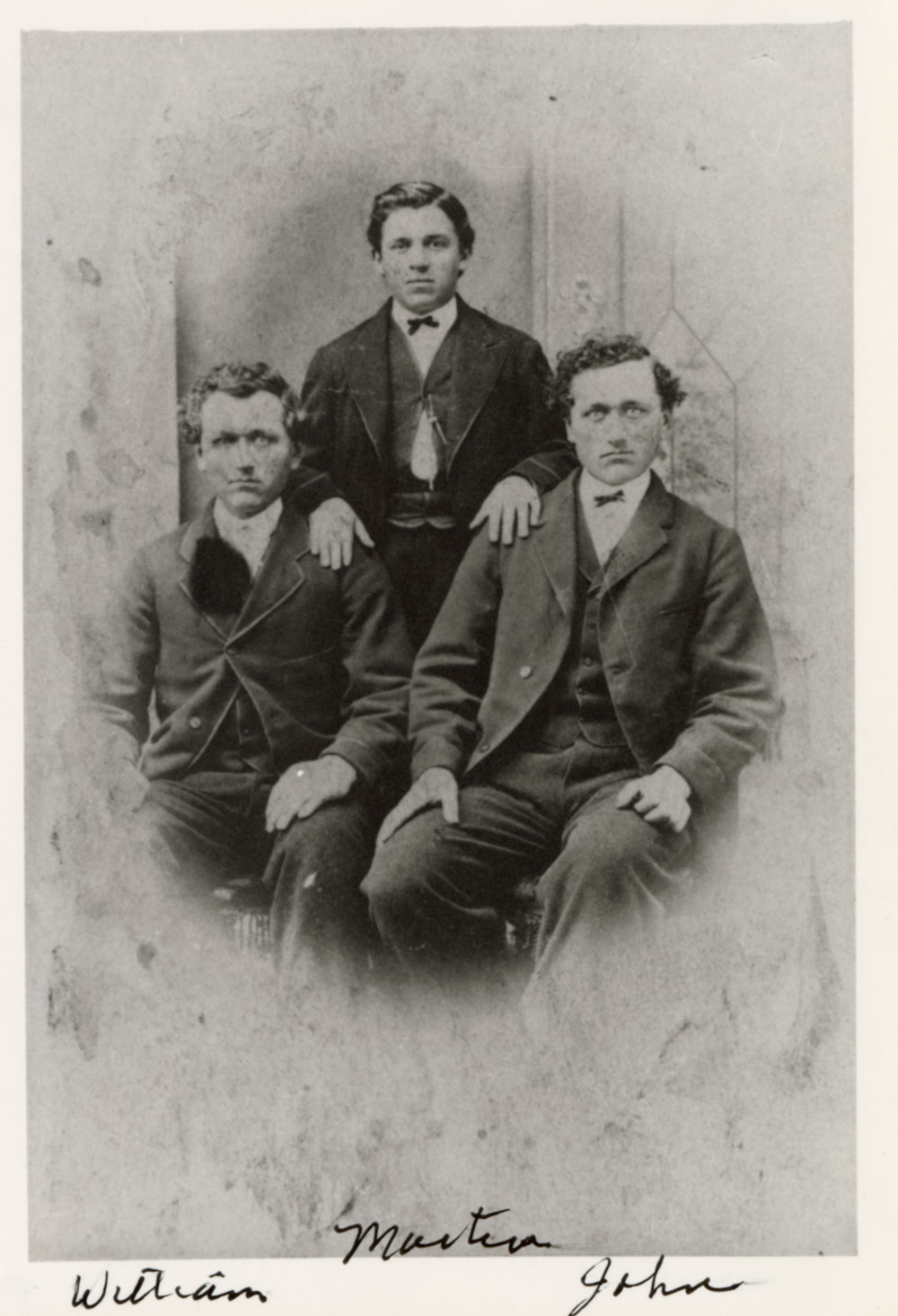 Ernst Brothers: William, Martin, and John