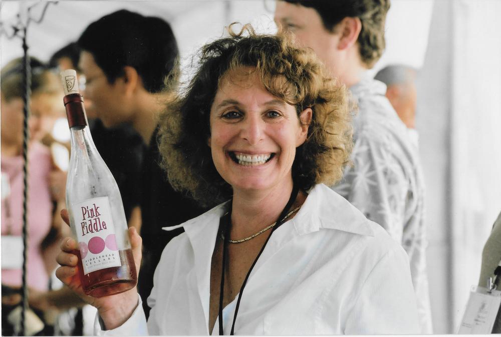 Kathy Joseph (Fiddlehead) at the Grand Tasting.