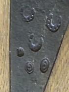 Wine Cap Axe detail marks