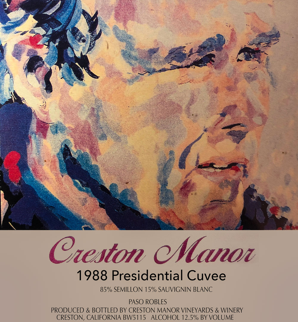 Creston Manor 1988 Presidential Cuvee