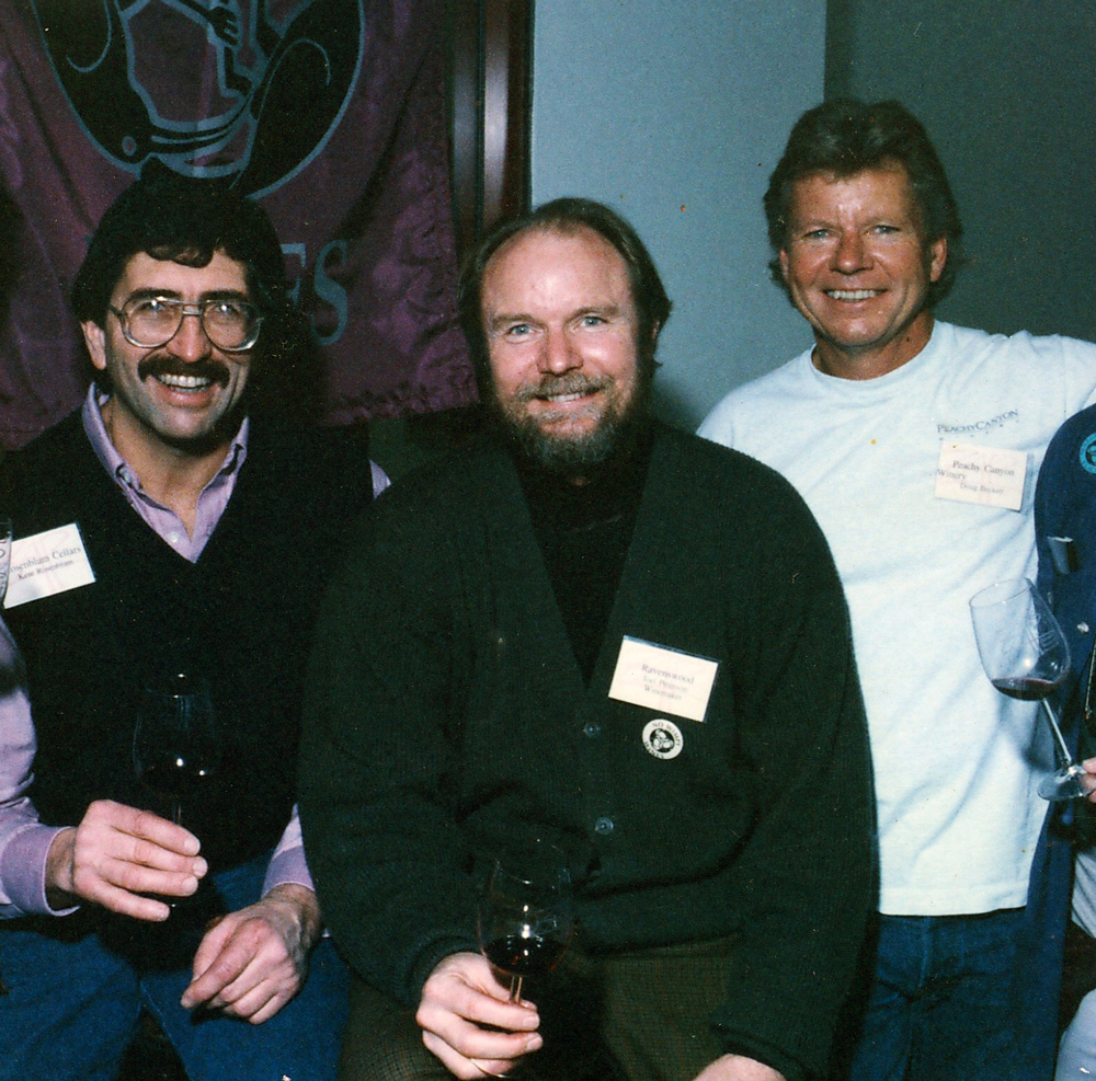 Kent Rosenbloom, Joel Peterson, and Doug Beckett (left to right).