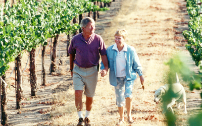 Doug and Nancy Beckett, Peachy Canyon Winery