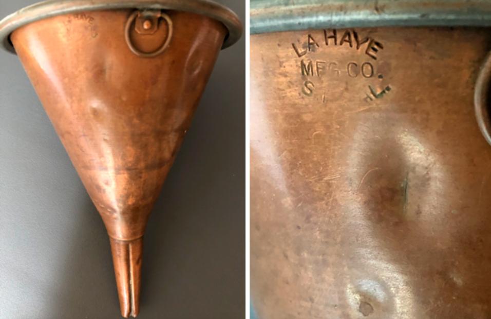 wine bottle funnel