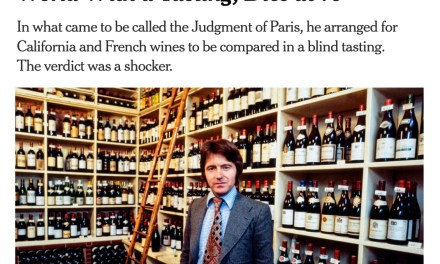 Steven Spurrier, creator of the Judgement of Paris, dies at 79