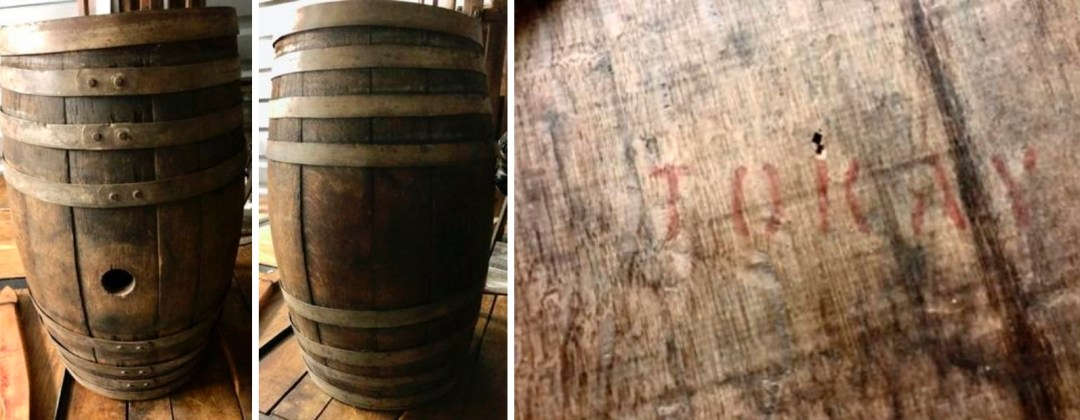 A Barrel Identified by TOKAY on the Lid