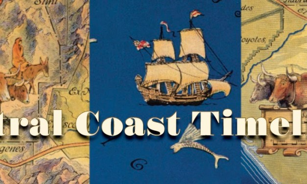 Central Coast Timeline: Early Wine History