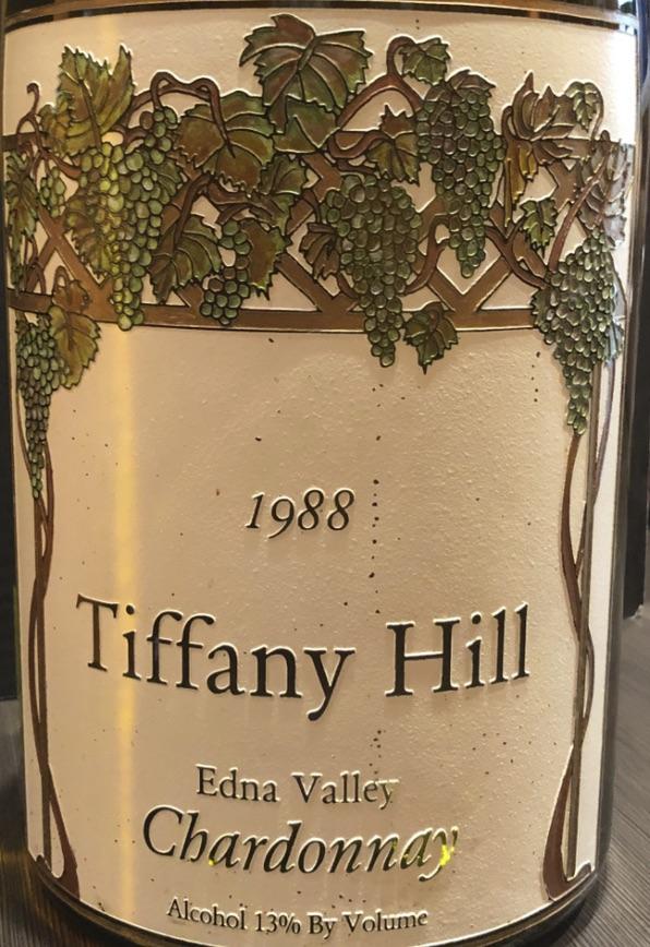 Catharine Niven's Tiffany Hill wine bottle