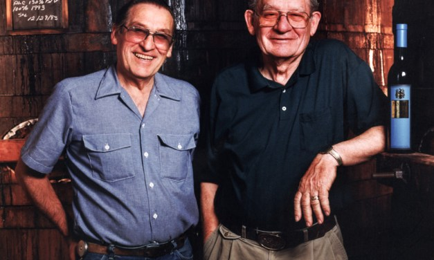 Aldo Bruno Nerelli (1917–2007), Silvia Pesenti (1923–2018), and Victor Pesenti (1924–2000)