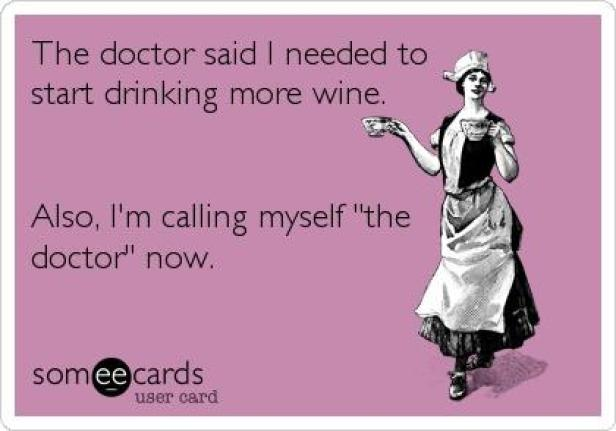 wine wednesday doctor cure all